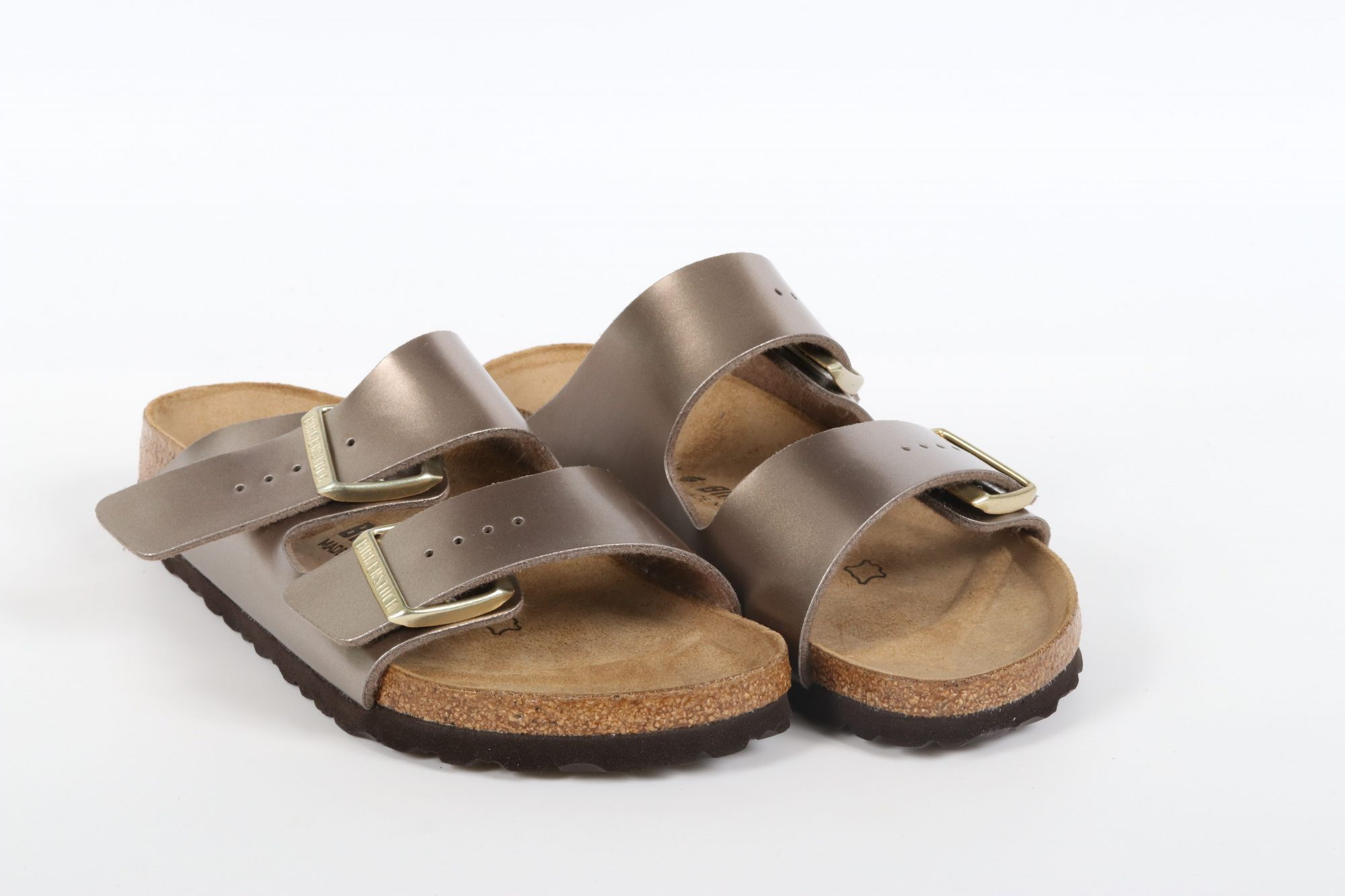 Birkenstock Arizona BS Electric Metallic Taupe