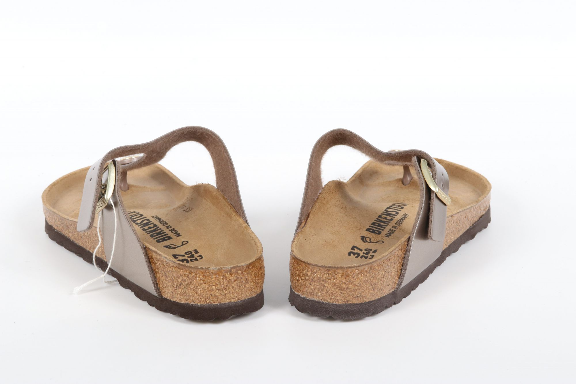 Birkenstock Gizeh BS Electric Metal Taupe