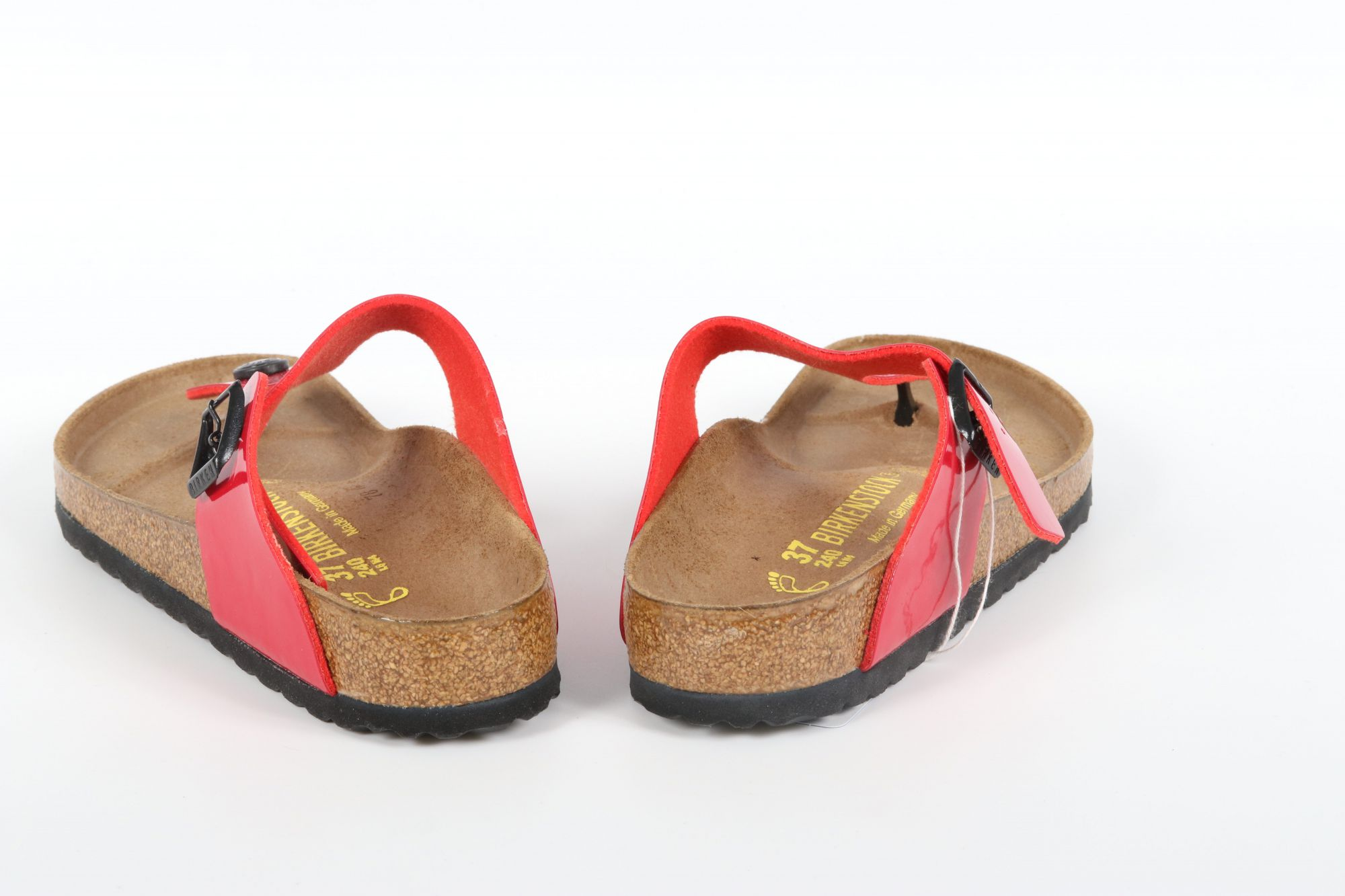 Birkenstock Gizeh Tango Red Patent / Rouge