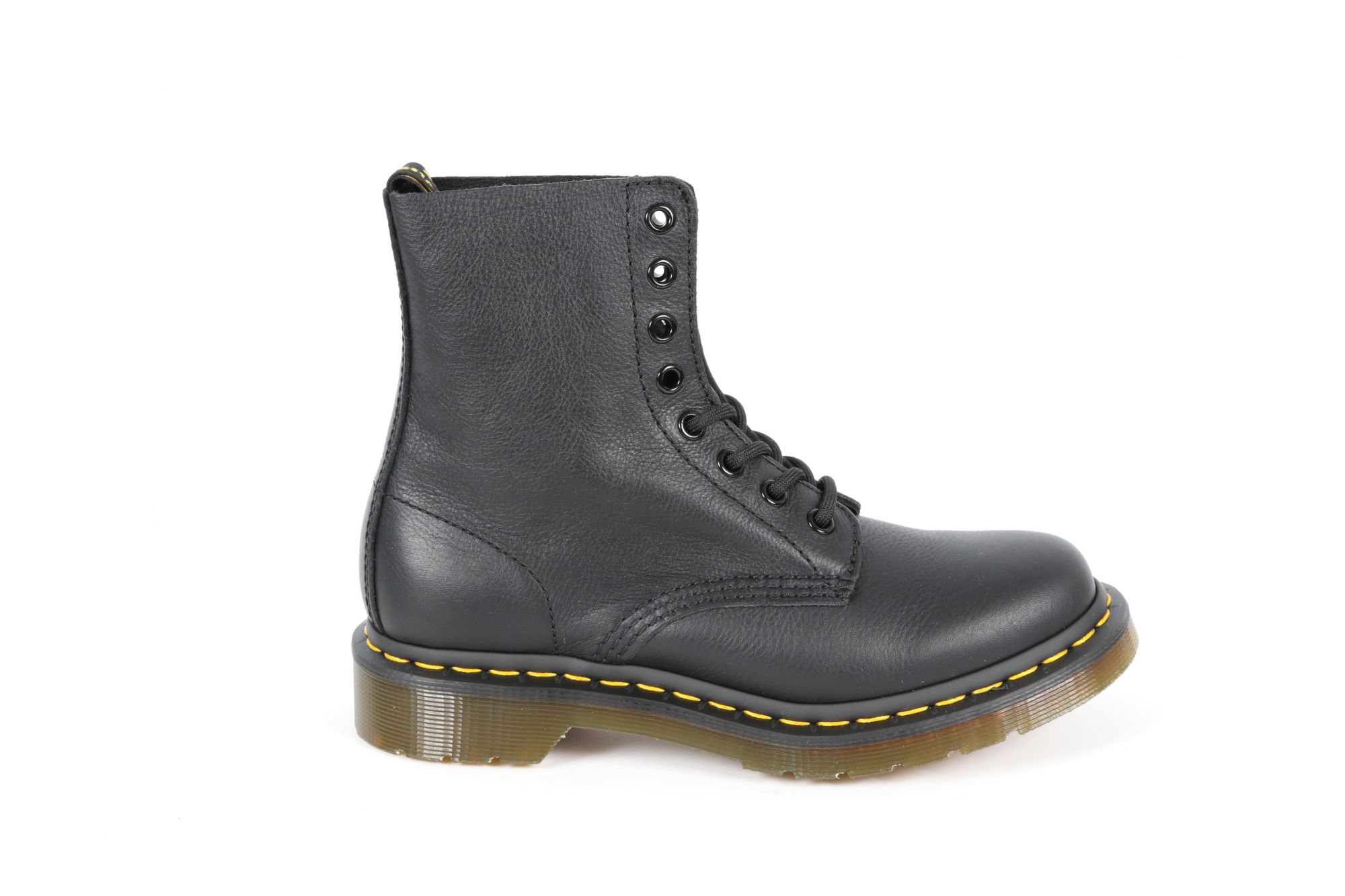 Bottines femme Doc Martens 1460 Pascal Black Virginia Noir