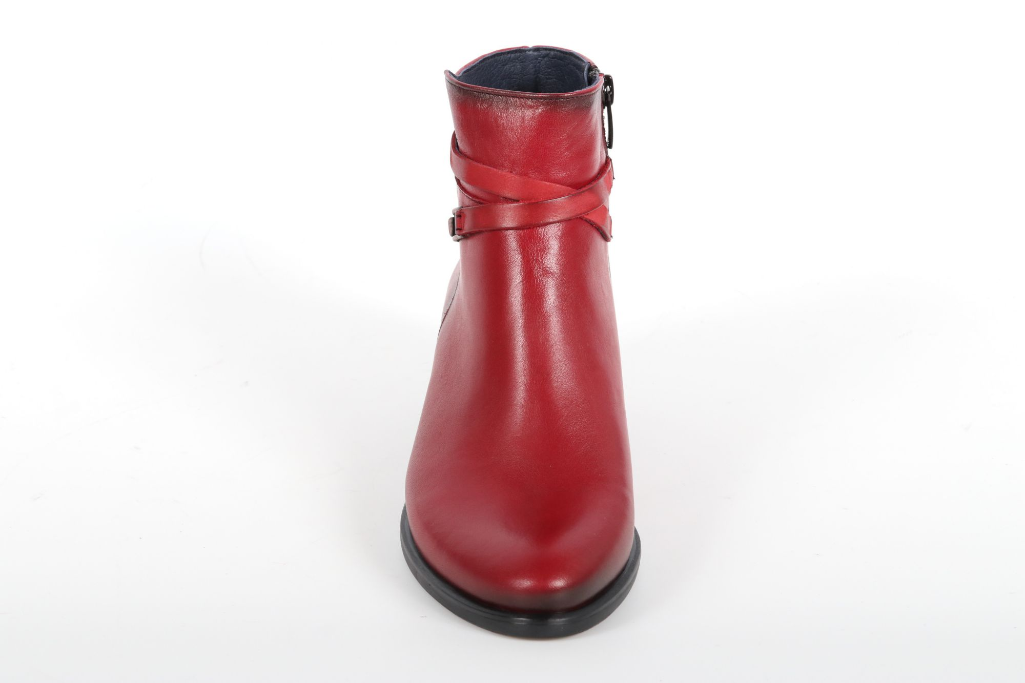 Bottines femme Dorking D8274 Bordeaux.