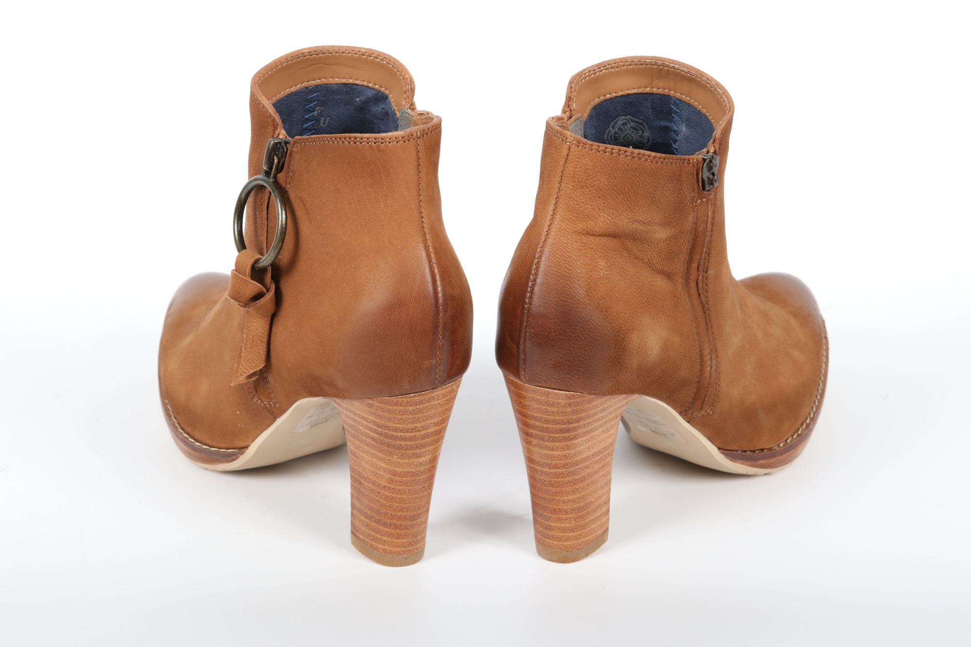 Bottines femme Fugitive Aston Oil Camel