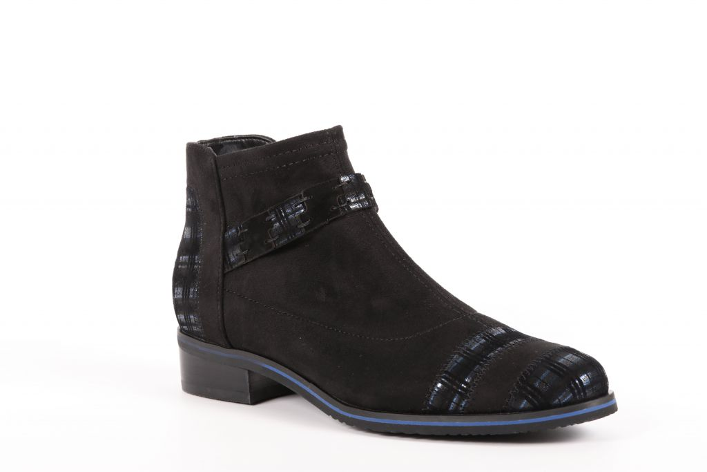 Bottines femme stretch Fugitive Veto Noir