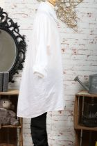 Chemise femme longue blanche\n4 tailles