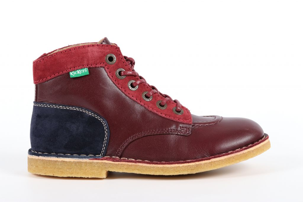 Kickers-660243-50 Kick legend-Voilet rouge