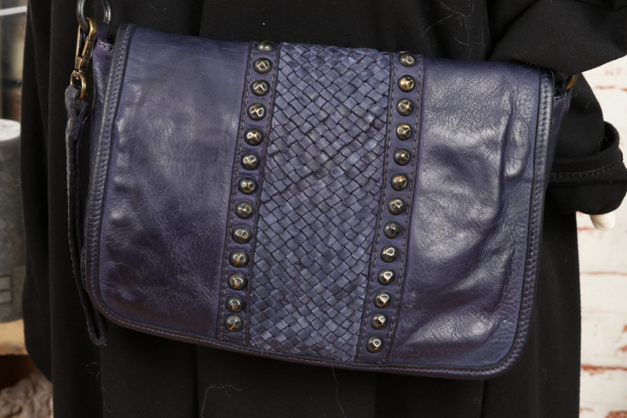 Sac cuir made in Italy