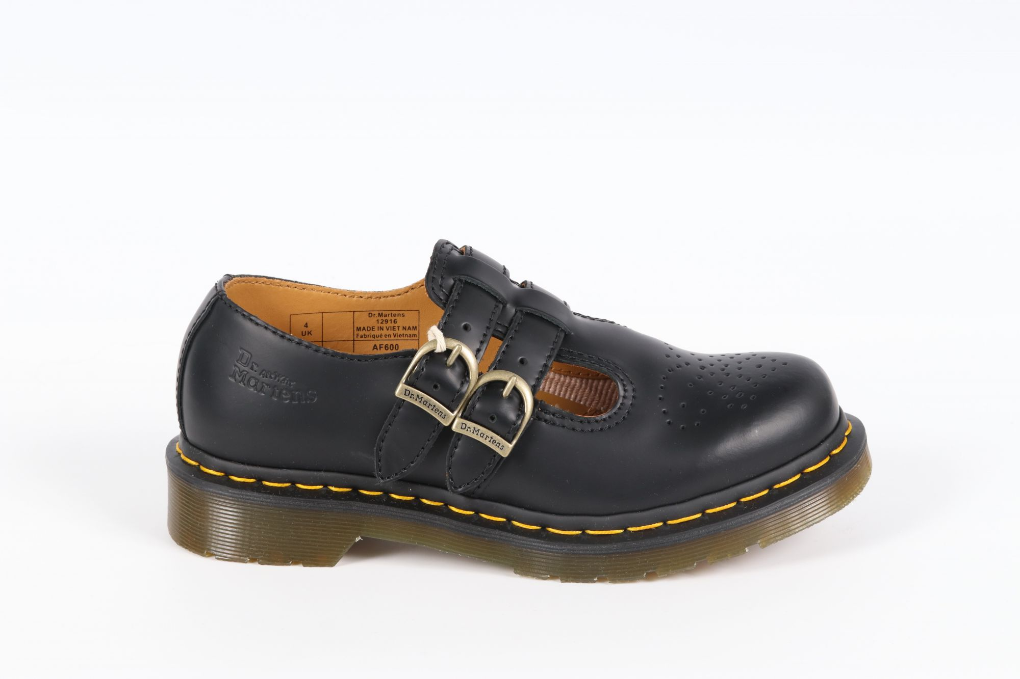 Sandales femme Doc Martens 8065 Mary Jane Noirs