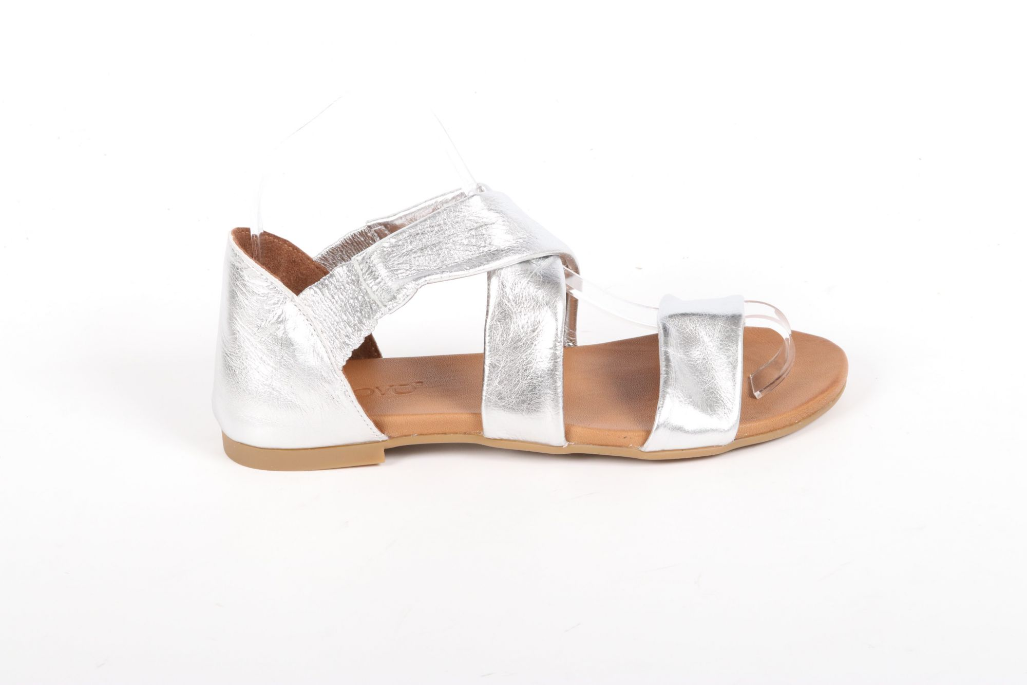 Sandales plates femme Inuovo 101145 Argent